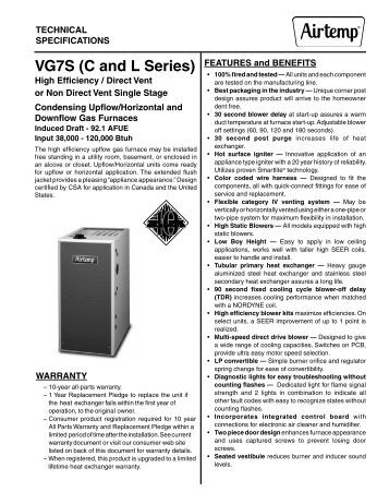 Technical Specs On The New M7rl Series Furnace Mobile