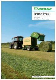 Round Pack - Mediathek - Maschinenfabrik Bernard KRONE GmbH