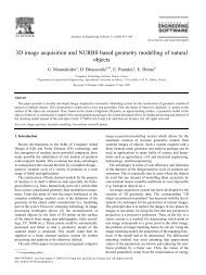 3D image acquisition and NURBS based geometry modelling of ...