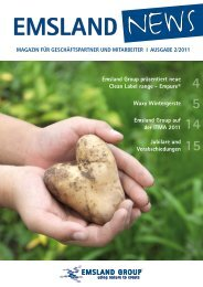 Emsland News 2011 - Emsland Group