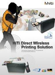 HiTi P510Si Brochure (.pdf) - APS Imaging Solutions