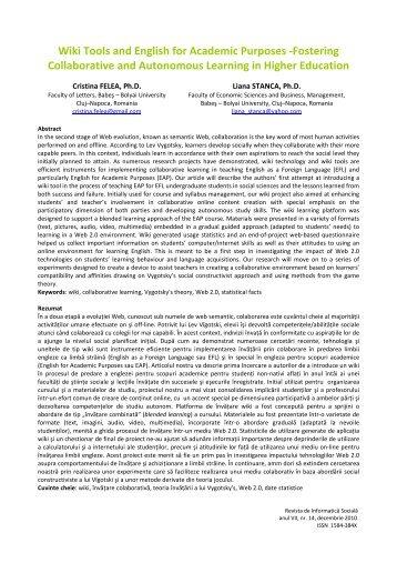 Download - Journal of Social Informatics / Revista de Informatica ...
