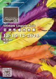 Page 1 Page 2 intimate Lingerie Asia (ILA) f . www@ @ammessa ...