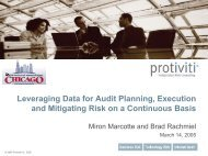Protiviti Pitch Deck Template - The Institute of Internal Auditors