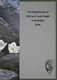 Regional Demography - Northland District Health Board