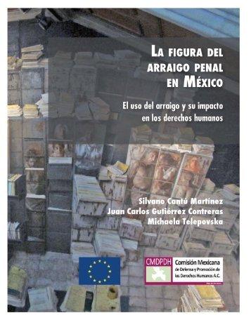 La+Figura+del+Arraigo+Penal+en+México+Libro