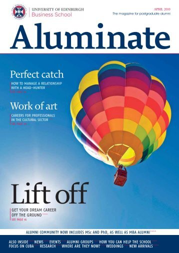 Aluminate April 2010_p01 - University of Edinburgh Business School