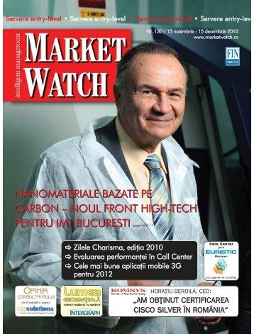 nanomateriale bazate pe carbon – noul front high ... - Market Watch
