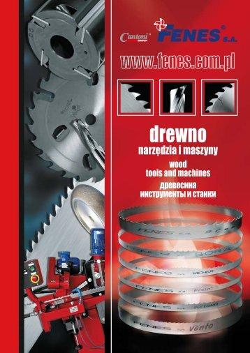 pobierz katalog Drewno - narzędzia i maszyny - Cantoni Group