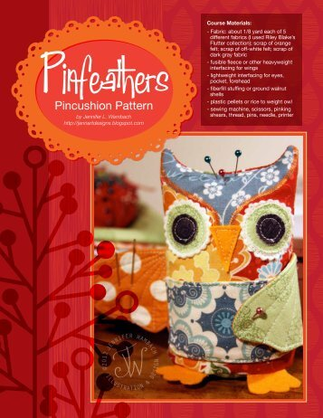 Pinfeathers - Riley Blake Designs