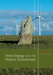 Wind Energy and the Historic Environment - HELM