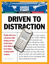 It's a 21st century fact of life - National Safety Council