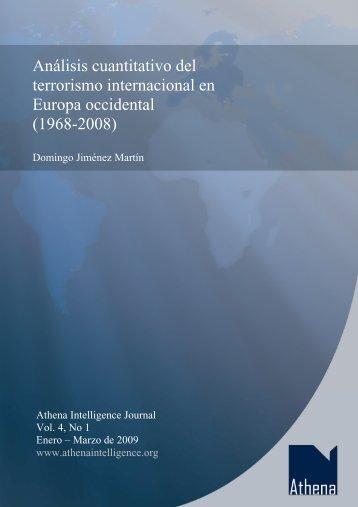 Análisis cuantitativo del terrorismo internacional en Europa occidental