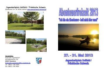 Infoflyer mit Anmeldebogen - Landkreis Rosenheim