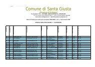 5 superiore per merito as 2008-2009 - Comune di Santa Giusta