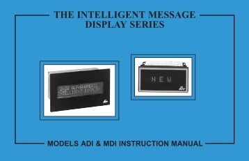 ADI & MDI Manual PDF - Red Lion Controls