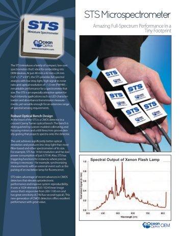 STS Microspectrometer