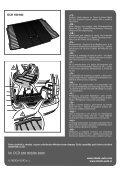 Škoda Yeti (5L) Gumový koberec do zavazadlového prostoru ... - Page 2
