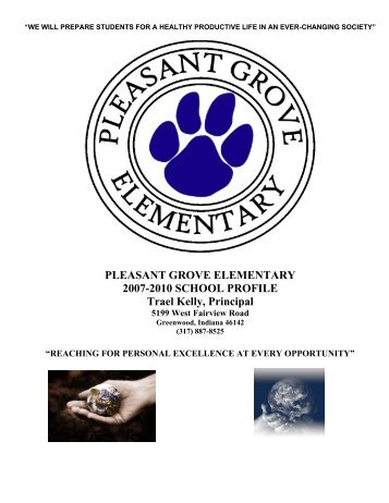 School Profile - Center Grove Community School Corporation
