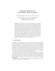 Symmetry Reduction for Probabilistic Model Checking* - CiteSeerX