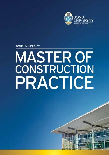 CONSTRUCTION - Bond University