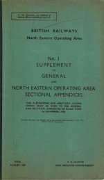 No.! SUPPLEMENT GENERAL NORTH EASTERN ... - Limit Of Shunt