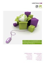 E-Commerce und Zoll - bühlmann rechtsanwälte, zürich
