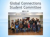 Global Connections Student Committee - Students