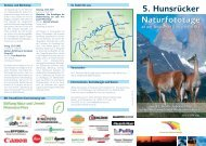 Flyer 2008 Hunsrücker Naturfototage (Page 1) - Hans-Martin Braun ...
