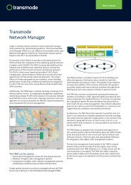 Transmode Network Manager