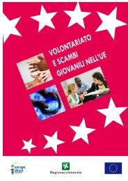 Volontariato e scambi giovanili nell'UE - Europe Direct Lombardia ...