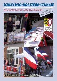 Aktiv auf den Straßen Schleswig-Holsteins