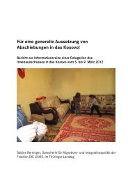 Bericht von Sabine Berninger - Aktion 302
