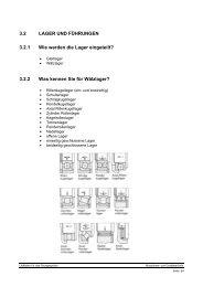 3.2.2 Was kennen Sie für Wälzlager?