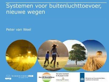 Peter van Weel - Energiek2020