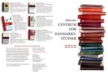 Folder med böcker från Danmarksstudier (pdf, 651 kb)