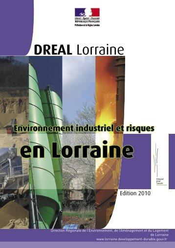 bilan 2010 - DREAL Lorraine - Ministère du Développement durable