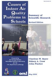 Causes of indoor air quality problems in schools - The American ...