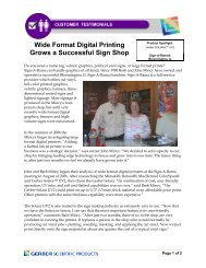 Wide Format Digital Printing Grows a Successful Sign Shop - Gerber ...