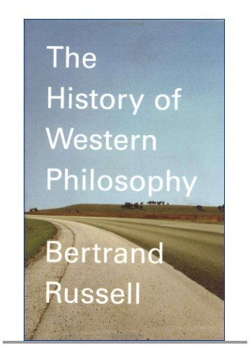 The History of Western Philosophy - Online Christian Library
