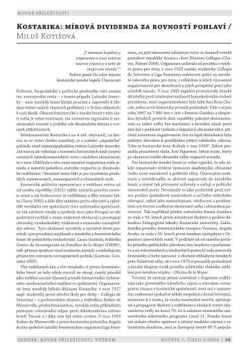 PDF článku ke stažení (cs) - Gender, rovné příležitosti, výzkum
