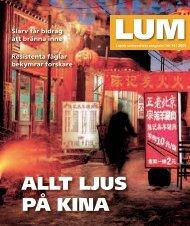 LUM nr 10 - 16 december (PDF 3 MB - Nytt fönster) - Humanekologi ...