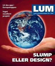 LUM nr 1 - 26 januari (PDF 2,8 MB, Nytt fönster) - Humanekologi ...
