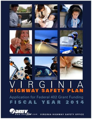 Virginia's Highway Safety Plan - Virginia Department of Motor Vehicles