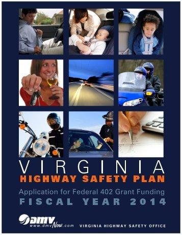 Virginia's Highway Safety Plan - Virginia Department of Motor Vehicles
