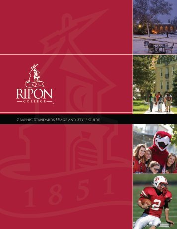 Graphic Standards Usage and Style Guide - Ripon College