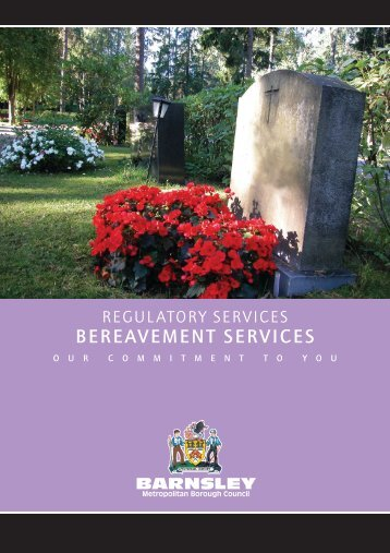 BEREAVEMENT SERVICES - Barnsley Council Online
