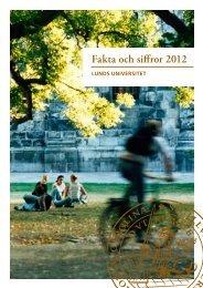 Fakta och siffror 2012 - Humanekologi Lunds universitet