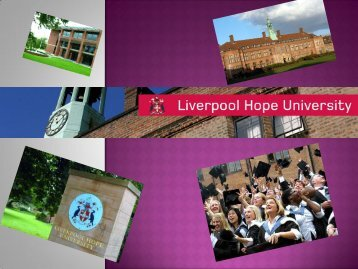 Liverpool Hope University - UNEECC