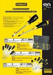 CUSHIONGRIP SCHRAUBENDREHERSÄTZE - Reiter Werkzeuge